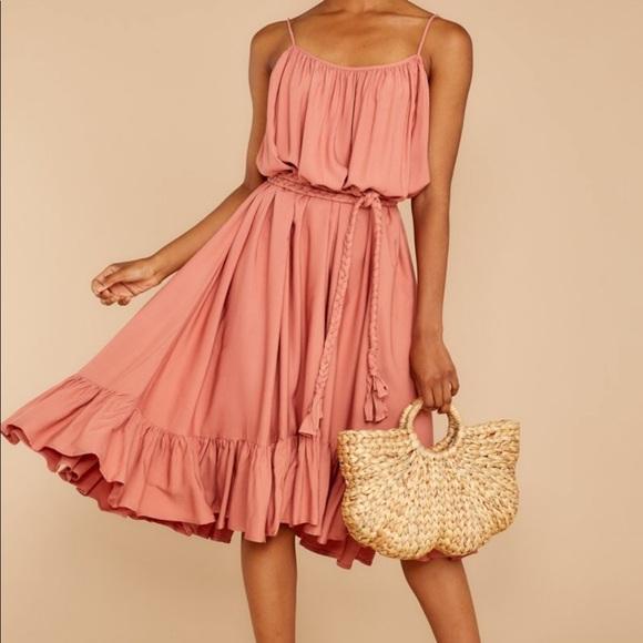 Red Dress Boutique Dresses & Skirts - Peach Sundress